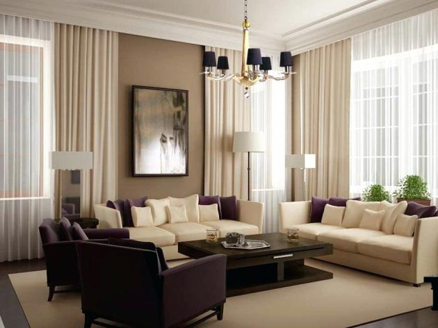 15 Awesomely Decorated Living Rooms That Are Worth Seeing