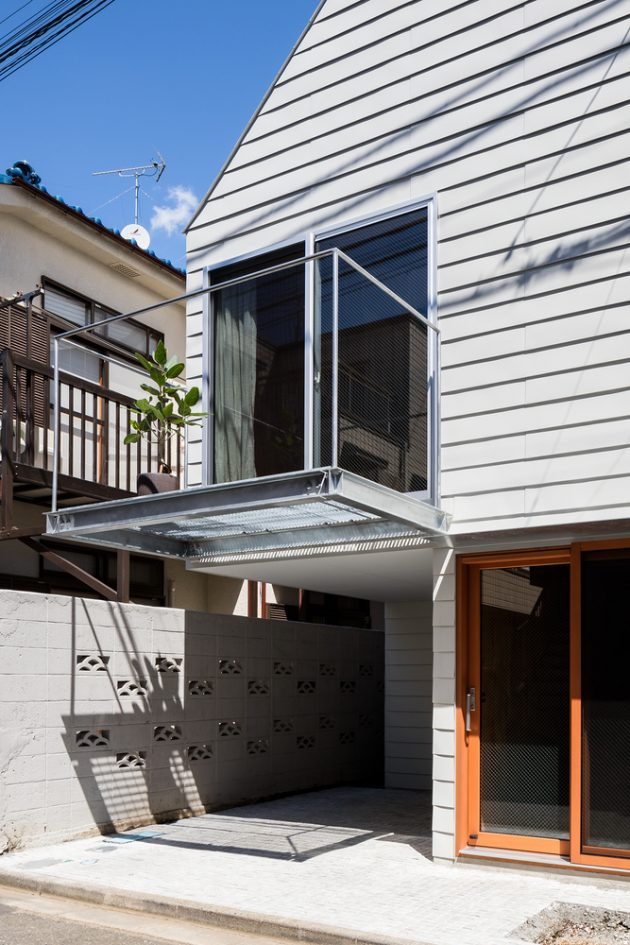 Blemen House by Blemen Architects in Tokyo, Japan