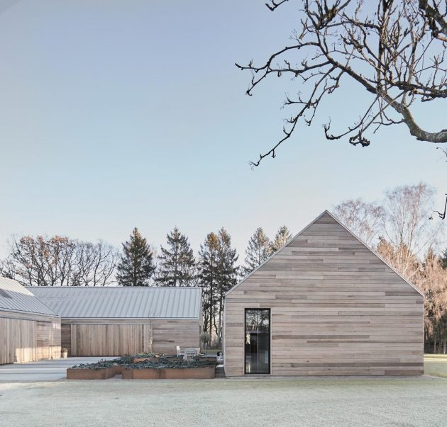 Casa Ry by Christoffersen & Weiling Architects in Ry, Denmark