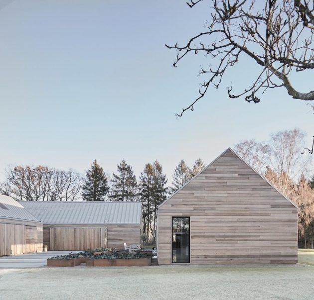 Casa Ry by Christoffersen & Weiling Architects in Ry, Denmark