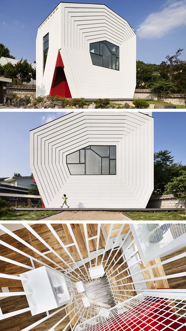 Conan House by Moon Hoon in Bangdong, South Korea