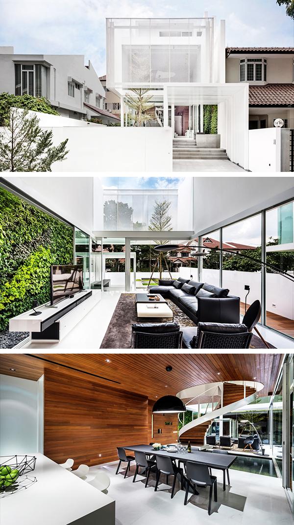 Greja House by Park + Associates in Bedok, Singapore