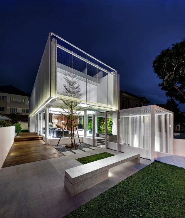 Greja House by Park + Associates in Bedok, Singapore