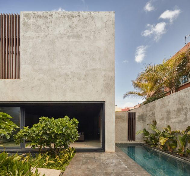 LM House by Elements Lab in Casablanca, Morocco