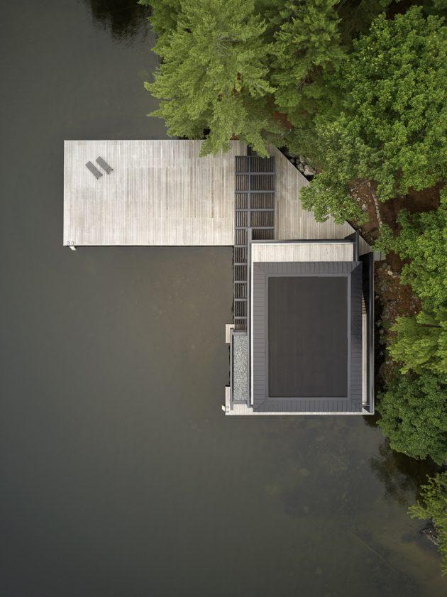 Muskoka Boathouse By Akb Architects In Ontario Canada