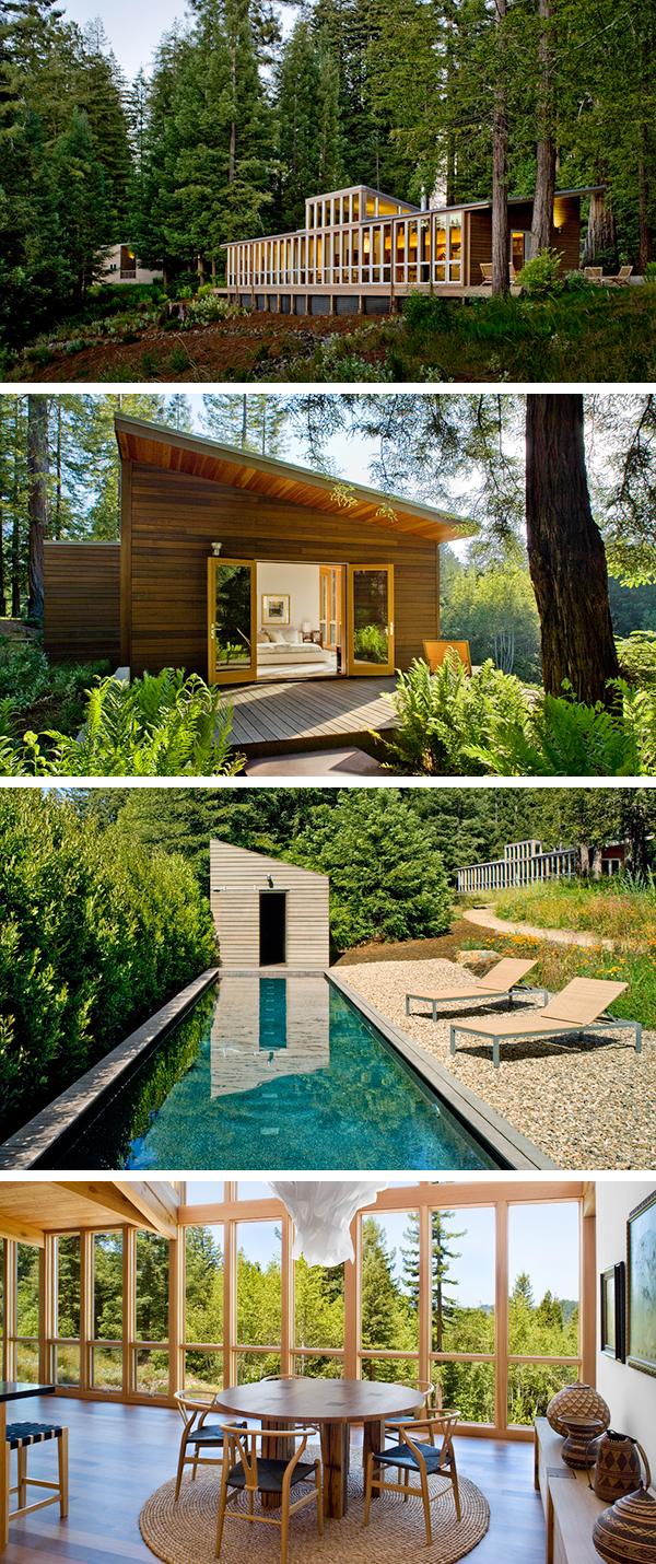Sebastopol Residence by Turnbull Griffin Haesloop Architects in California