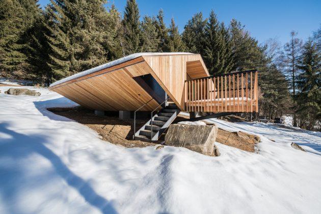 UFO House by Stefan Hitthaler in Bruneck, Italy