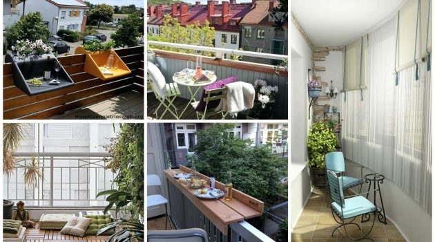 19 Most Creative Small Balconies That You Haven't Seen Before
