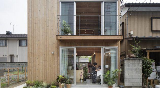 Wooden Box House by Suzuki Architects in Kawaguchi, Japan