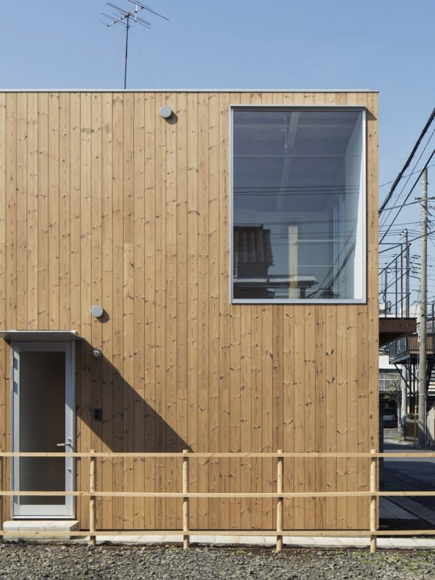 Wooden Box House by Suzuki Architects in Kawaguchi, Japan