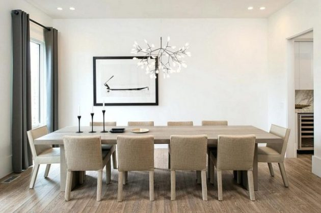 18 Fascinating White Chandelier Dining Rooms That You Shouldnt Miss