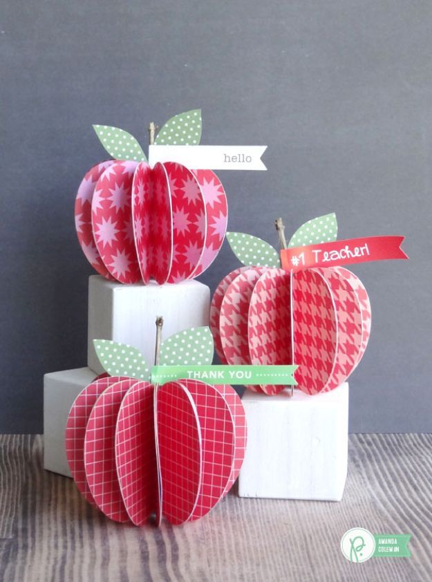 15 Awesome DIY Apple Crafts Your Friends Will Love