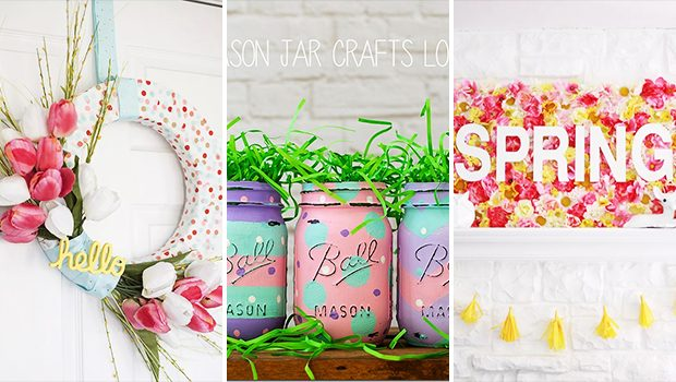 15 Beautiful DIY Spring Decor Ideas That Will Freshen Up Your Home