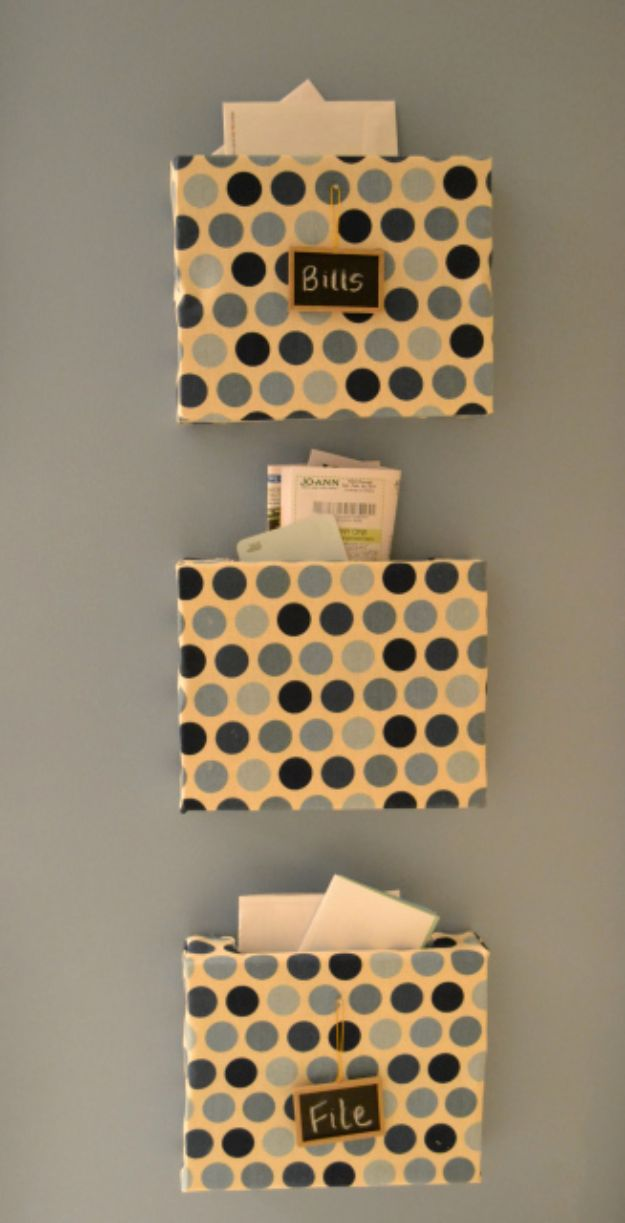 15 Creative & Practical DIY Mail Organizer Ideas You Should Give A Try