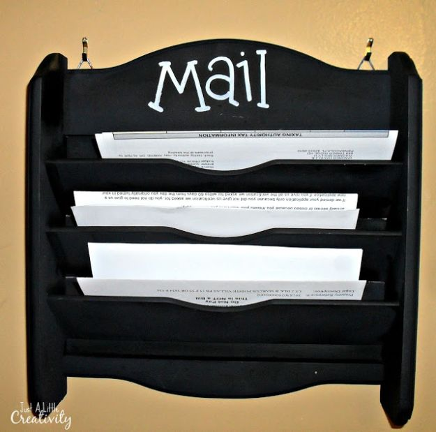 15 Creative Amp Practical Diy Mail Organizer Ideas You