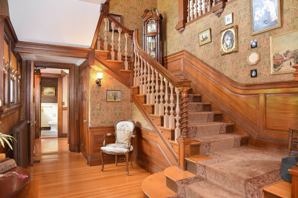 15-Elegant-Victorian-Staircase-Designs-Youll-Obsess-Over-13 Victorian Bathroom Designs Photos on ornate bathroom designs, ranch style bathroom designs, halloween bathroom designs, navy bathroom designs, log home bathroom designs, antique style bathroom designs, country bathroom designs, historical bathroom designs, small bathroom designs, new home bathroom designs, cottage bathroom designs, gothic bathroom designs, amish bathroom designs, adirondack style bathroom designs, traditional bathroom designs, summer bathroom designs, 1980s bathroom designs, single wide bathroom designs, gold bathroom designs, whimsical bathroom designs,