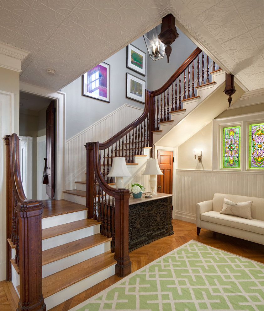 Home Entrance Design: 15 Elegant Victorian Staircase Designs You'll Obsess Over
