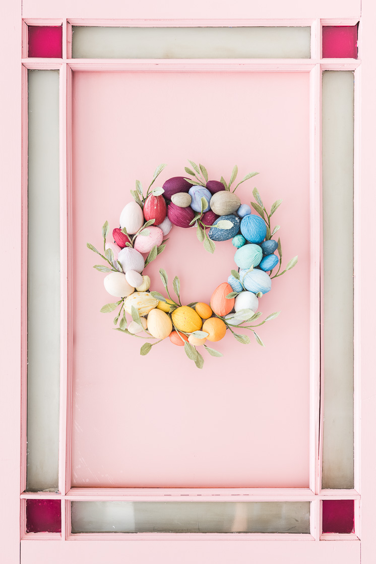 15 Sparkling DIY Easter Wreath Designs You Should Keep For The Entire Season