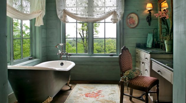 15 Splendid Victorian Bathroom Designs You'll Adore