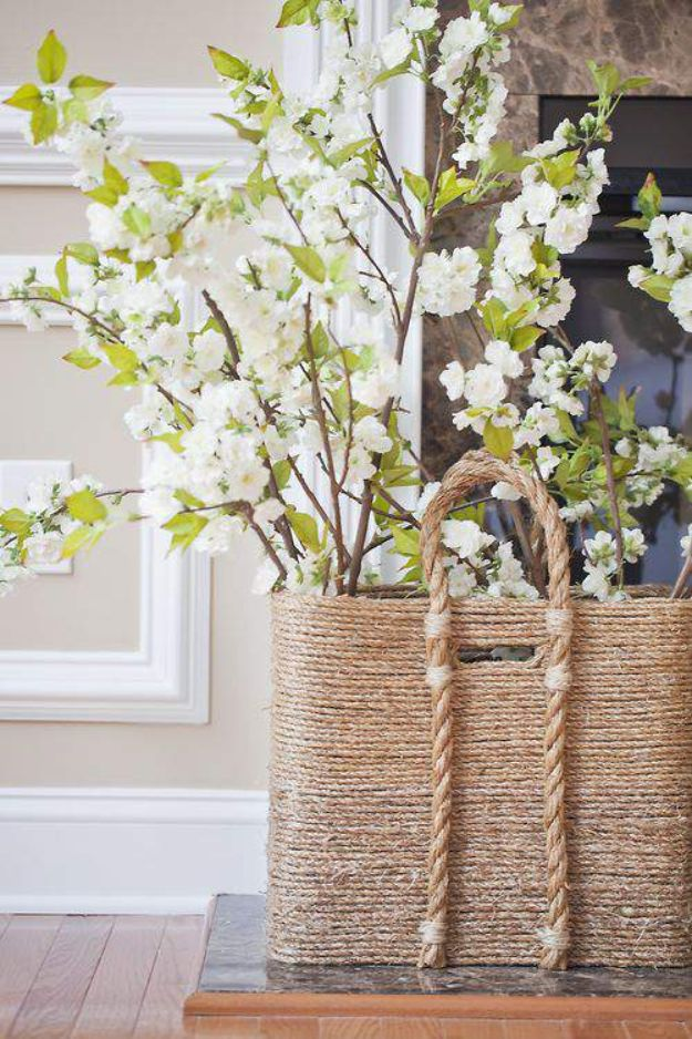 15 Super Simple DIY Storage Basket Ideas You'll Finish In No Time