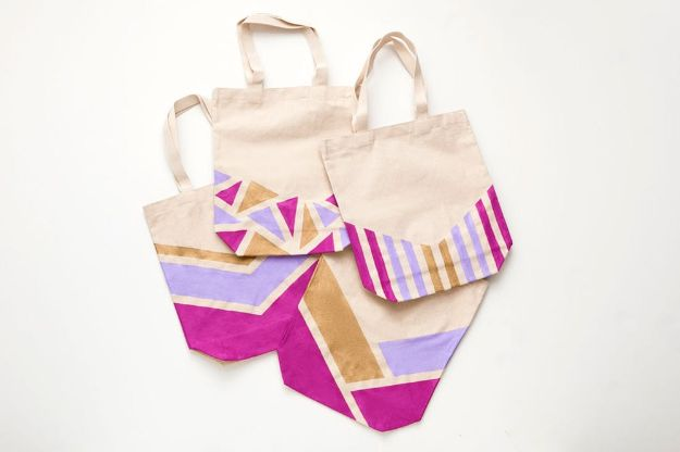 16 Awesome DIY Shopping Bags That Will Match Your Style