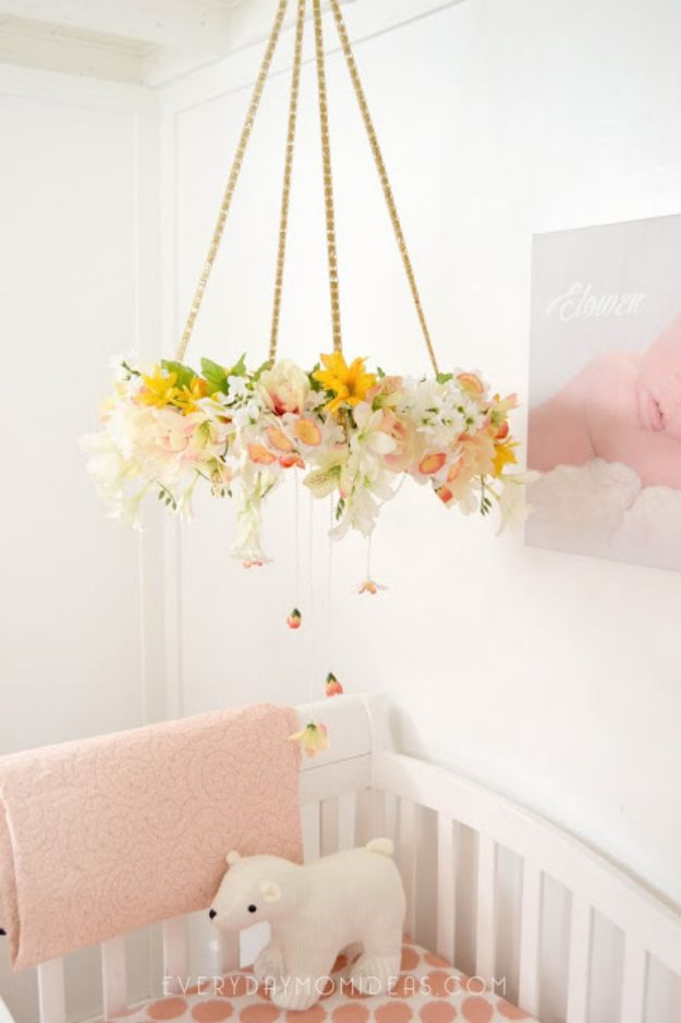 Baby Room Accessories: 16 Beautiful DIY Nursery Decor Projects For Your Baby Girls