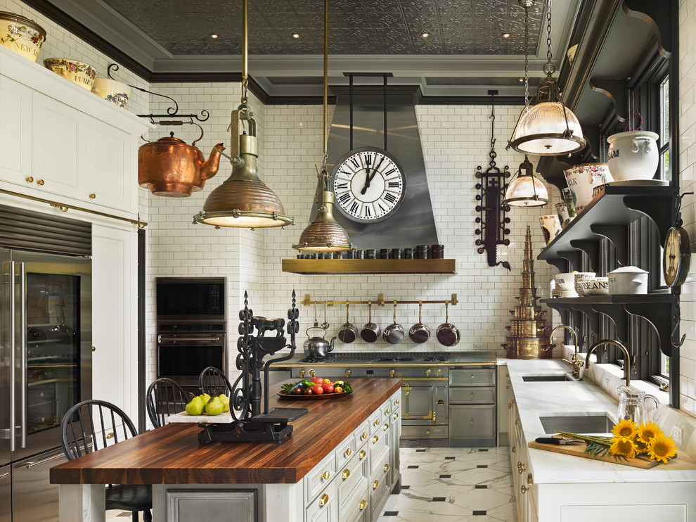 18 Pristine Victorian Kitchen Interior Designs You Must See