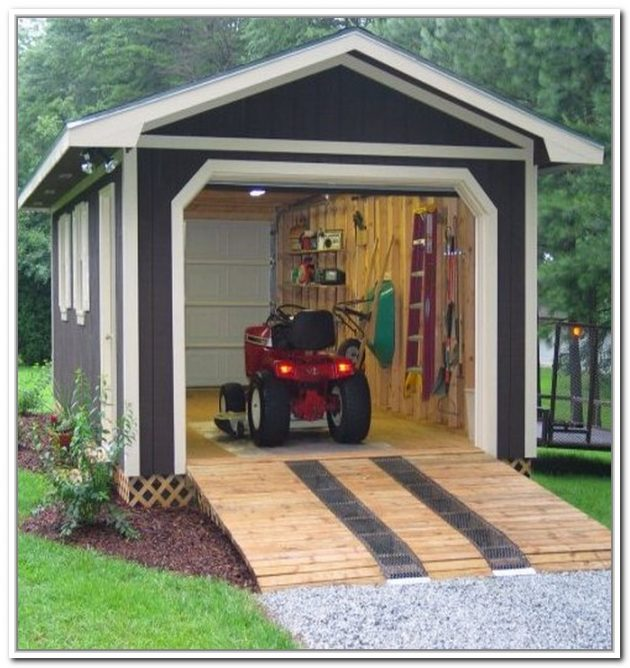 Improve Your Homes Outdoor Organization With A Shed