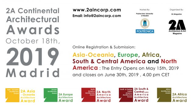 Event: 2A Continental Architectural Awards 2019, Madrid