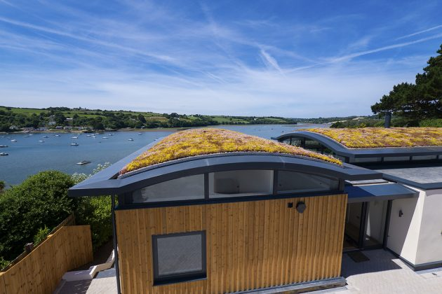 A beautiful new dwelling on Cornwall's Restronguet Point designed by CSA Architects