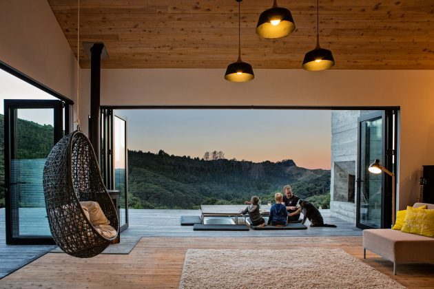 Back Country House by LTD Architectural Design Studio in Puhoi, New Zealand