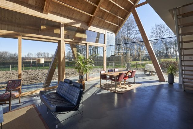 Barnhouse Werkhoven by RVArchitecture in The Netherlands