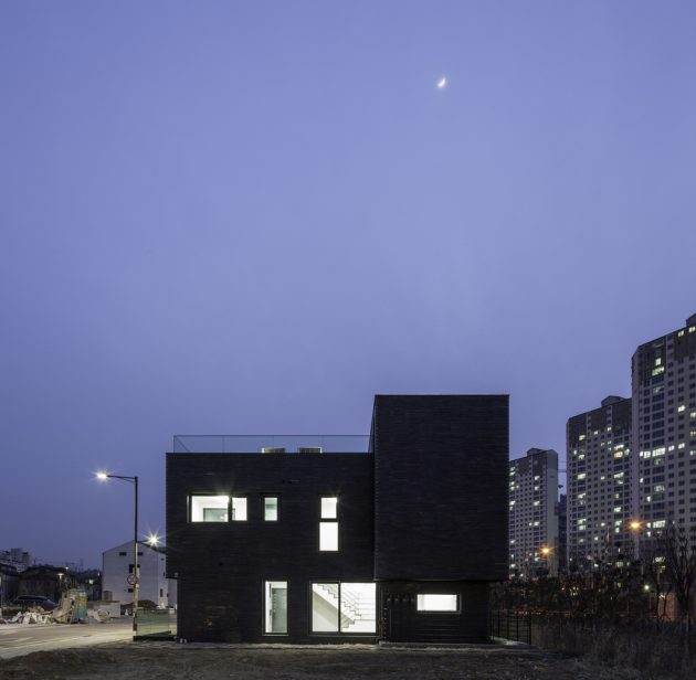 DP9131 House by skimA in Hanam-si, South Korea