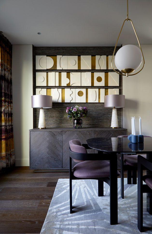 Fitzrovia Apartment by Kia Design in London, United Kingdom