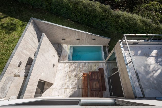 LRC House by BDB Arquitectos in San Isidro, Argentina