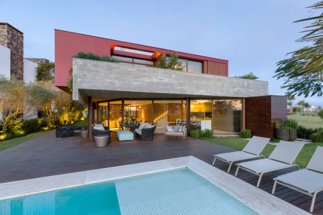 Marsala House by Stemmer Rodrigues Arquitetura in Porto Alegre, Brazil