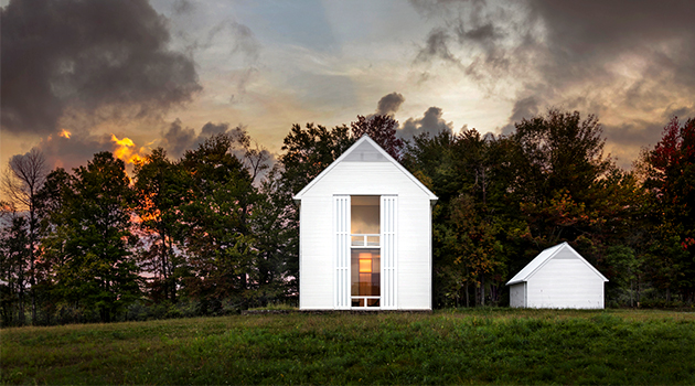 Pennsylvania Farmhouse by Cutler Anderson Architects in Lakewood, PA