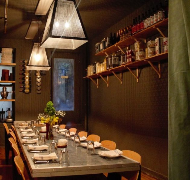 Timna Restaurant by Milman Design Build in New York City