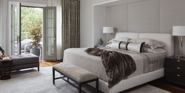 7 Monochromatic and Neutral Bedrooms that are fascinating