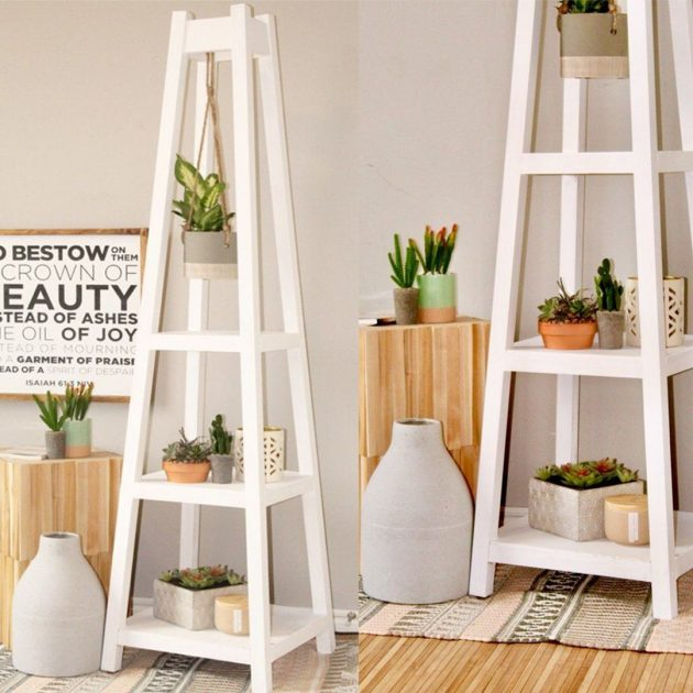 DIY   Plant Stand on a totally new level
