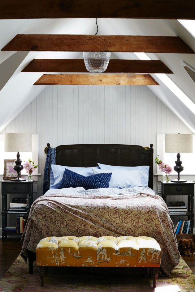 Unique Bedrooms with Striking Ceilings
