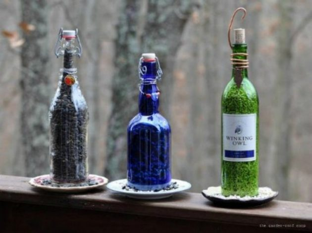 18 New & Creative DIY Glass Bottle Crafts That Are Worth Seeing