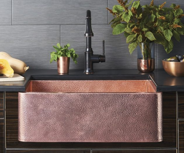 10 Excellent Ideas To Enter Copper Elements In The Kitchen