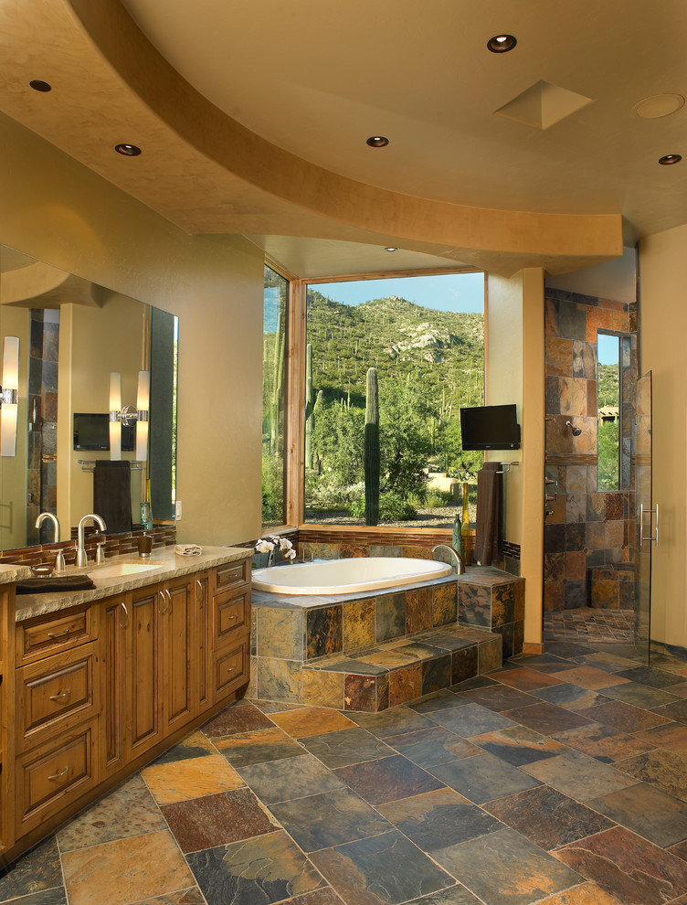 15 Charming Southwestern Bathroom Designs Youll Drool Over
