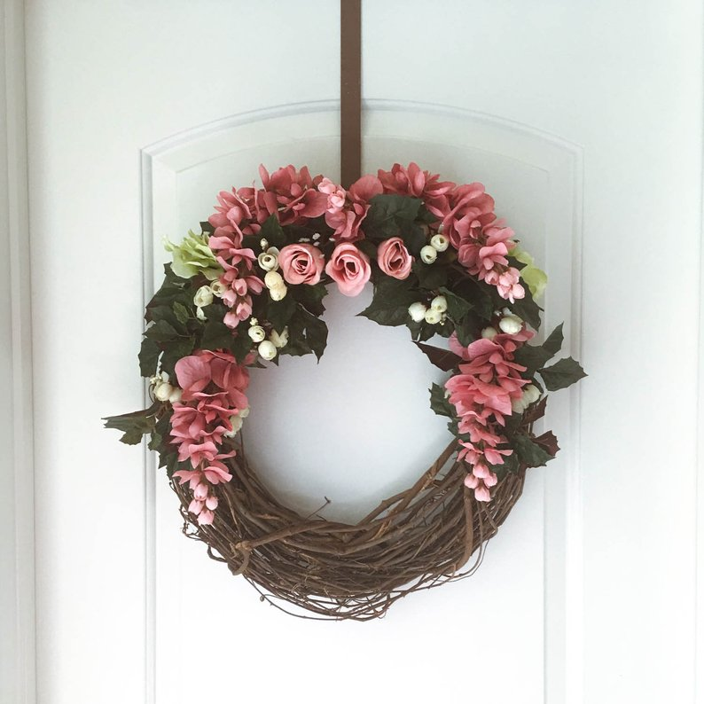 15 Colorful Handmade Summer Wreath Designs Your Front Door Will Need