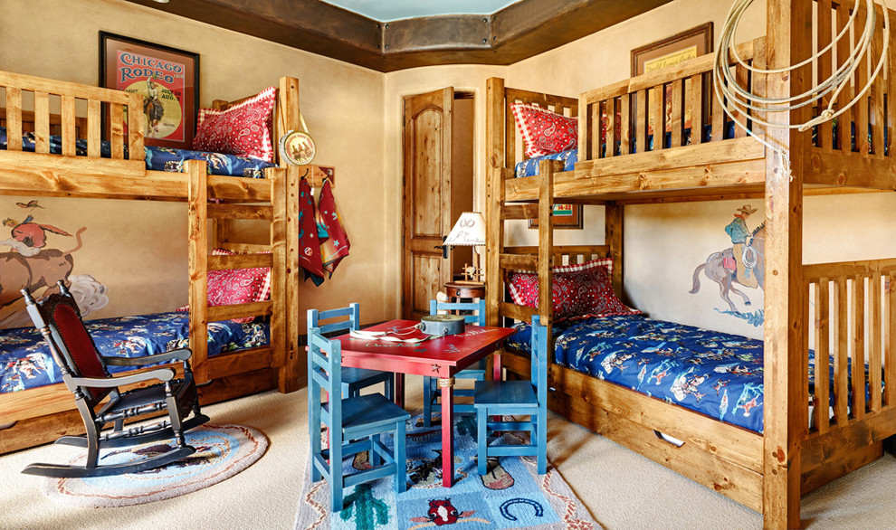15 Delightful Southwestern Kids Room Interiors You Will Like