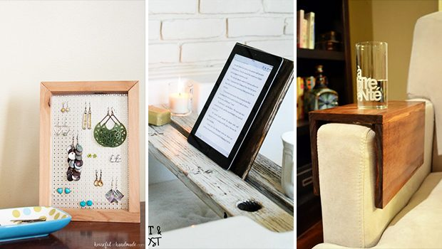 15 Elementary DIY Projects Made Out Of Reclaimed Wood
