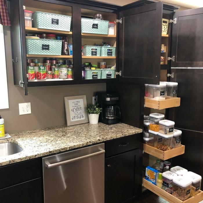 Ideas For Kitchen Cabinet Organization: 15 Genius DIY Dollar Store Storage Bin Organization Ideas