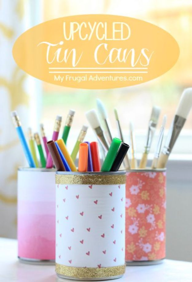 15 Handy DIY Tin Can Craft Ideas You Can Make With No Struggle At All
