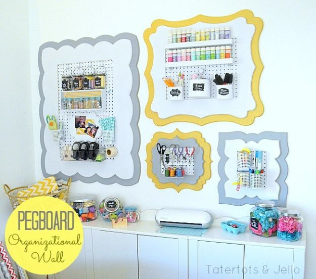 16 Must Know DIY Organization Ideas For Your Craft Room That Will Boost Your Creativity